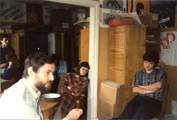 Собрание в М-БИО. Около 1990г.